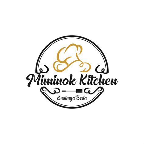 portofolio jasa desain logo makanan  miminok kitchen