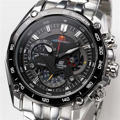 Casio Edifice Redbull Edition s watches casio edifice f1 bull racing