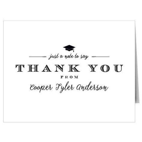 Thank You Note Quotes For Graduation 25 Best Ideas About Graduation Thank You Cards On Thanks Note Thank You Card