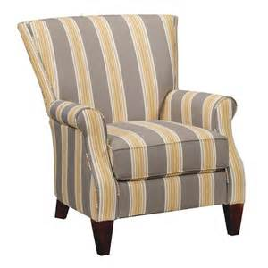yellow and gray chair 34 striped upholstered accent chair furniture and rugs