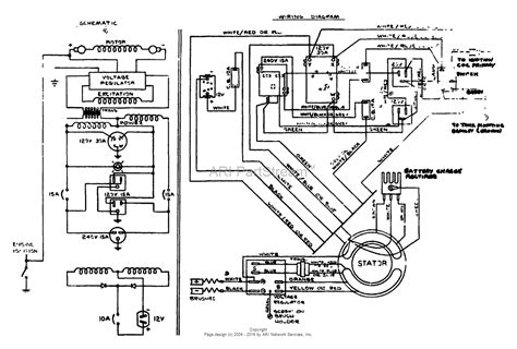 craftsman generator parts wiring diagrams wiring diagram