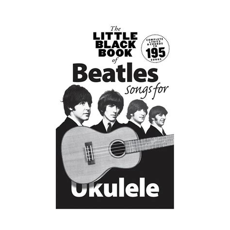libro the little black book music sales the little black book of beatles songs for ukulele 171 cancionero