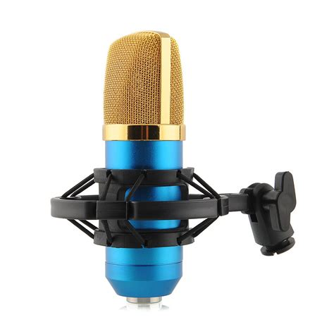 Microphone Bm700 For Recording pro large condenser microphone mic bm700 sound singing speech singer studio recording dynamic