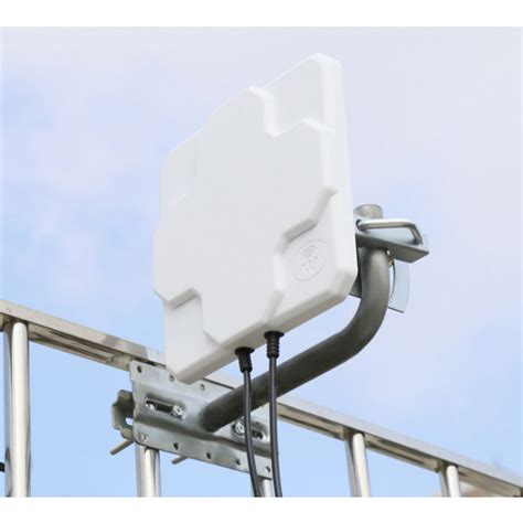 Antena Router Outdoor 4g lte outdoor antenna 2 x sma connectors for huawei zte 4g lte routers gateway lte cpe