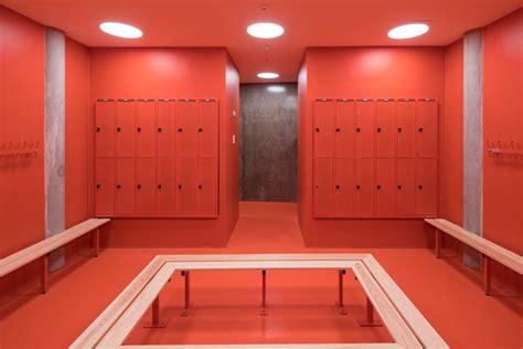 In Locker Room by Locker Room Accidentalwesanderson