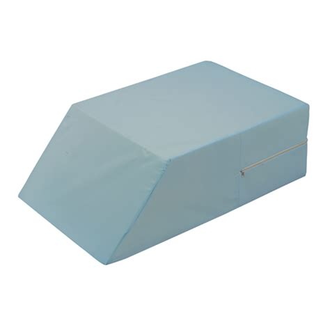 mabis dmi healthcare ortho bed wedge pillow 10 quot x 20 quot x 30 1 2 quot extra large blue cover buy mabis dmi ortho bed wedge 10x20x30 5 shop online