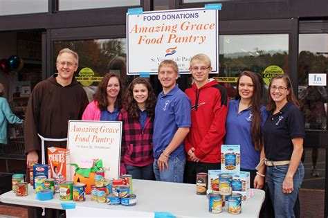 Middletown Food Pantry by Faith Formation Peer Ministry Pius X Parish
