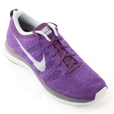 purple nike shoes nike flyknit lunar 1 running shoe purple