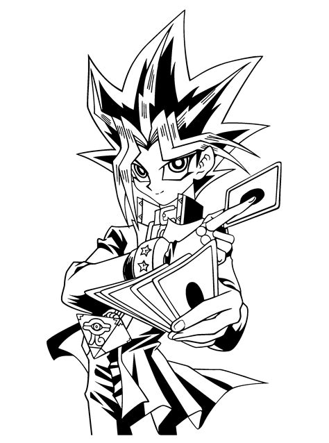 Coloring Page Yu Gi Oh Coloring Pages 11 Coloring Pages Yugioh