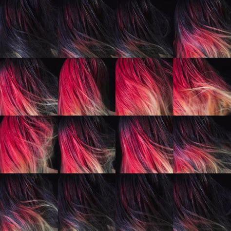 color changing color changing hair dye is like wearing a mood ring on