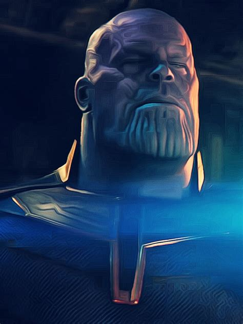 wallpaper thanos avengers infinity war movies
