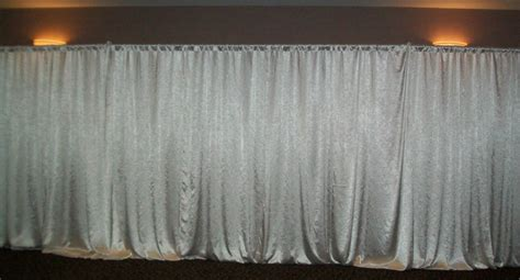how to make pipe and drape wedding stage and stage backdrop rk is professional pipe