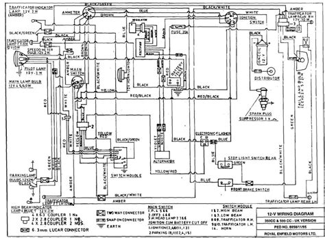 royal enfield bullet wiring diagram 35 wiring diagram