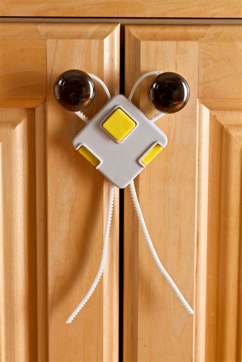 kitchen cabinet locks baby room by room tips to prevent accidental poisoning safebee