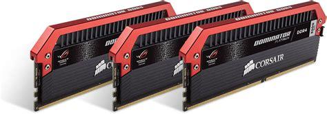 Memory Ram Ddr4 Corsair Dominator Platinum Rog Cmd16gx4m4b3200c16 4x 1 corsair launches dominator platinum memory modules for asus rog systems