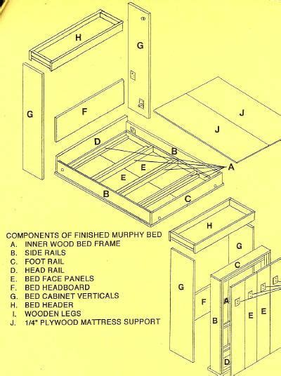 do it yourself building plans pdf woodwork murphy bed plans do it yourself download diy