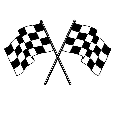 Home Decor Discount Stores by Checker Flag Vinyl Wall Decal Checkered Flag Formula One