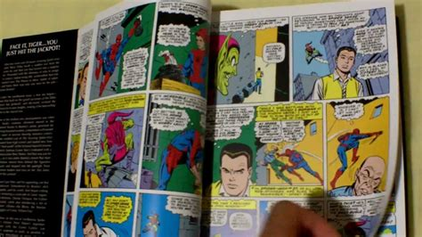 the amazing spider man omnibus quick glance the amazing spider man omnibus vol 1 and 2 youtube