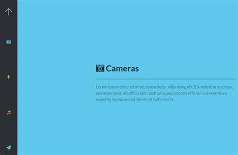 wordpress themes free vertical navigation eye catching jquery navigation menus 85ideas com