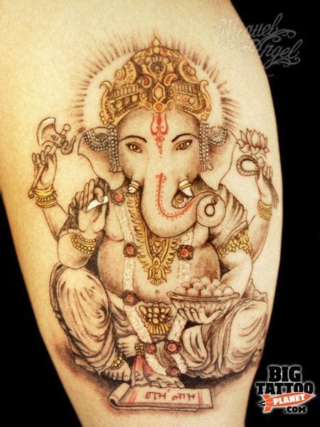 ganesha tattoo flash miguel angel flash tattoo big tattoo planet
