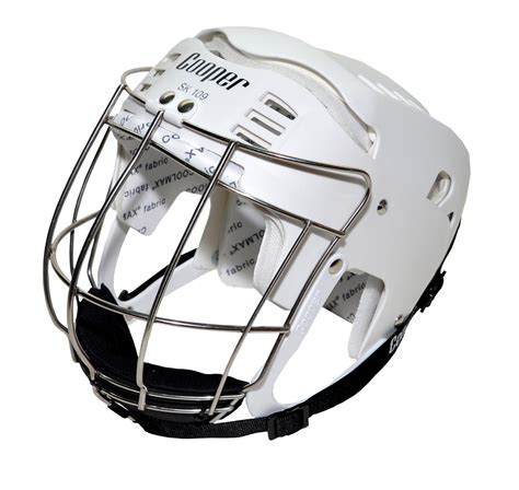 design a hurling helmet senior sk109 white