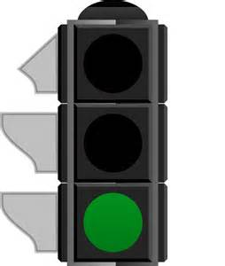 Green Traffic Light by Traffic Light Clipart