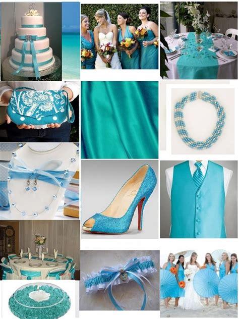turquoise blue wedding motif wedding inspiration orange wedding bells
