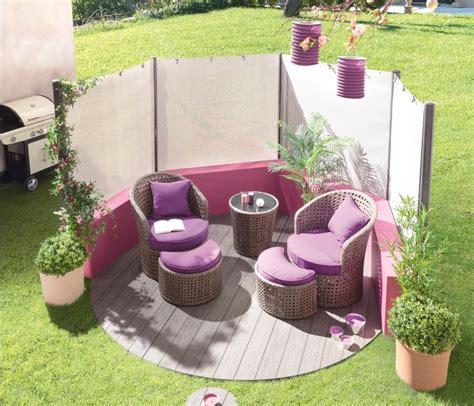 salon de jardins pas cher salon de jardin fushia qaland