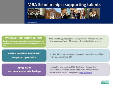Mba Scholarships Europe by International Mba
