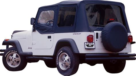 Jeep Replacement Tops Rage Products Replacement Soft Top With Skins Tinted