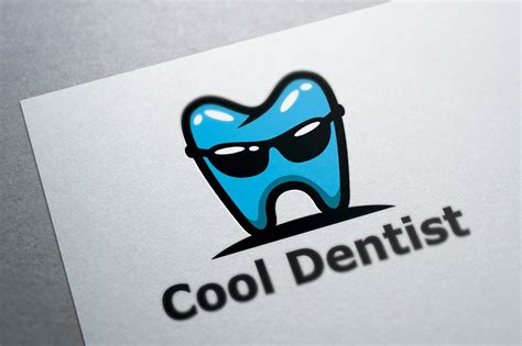 Cool Dental Logo Template Logo Templates Creative Market Cool Logo Templates