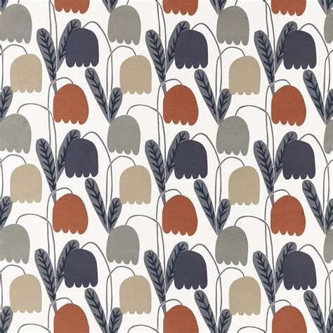 scion fabric curtains scion fritilla rust biscuit charcoal fabric 132146