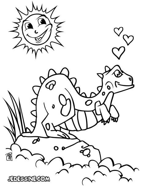 dinosaur truck coloring page coloriages dinosaure amoureux fr hellokids com