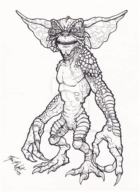 Gremlins Coloring Pictures Printable Coloring Pages Gremlins Coloring Pages