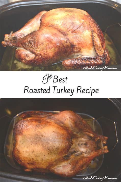 best roasted turkey recipe moola saving mom