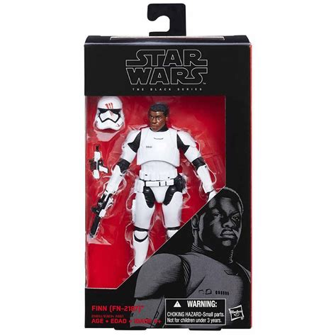 Hasbro Wars The Black Series 6 Inch Finn hasbro black series finn fn 2187 stormtrooper figure