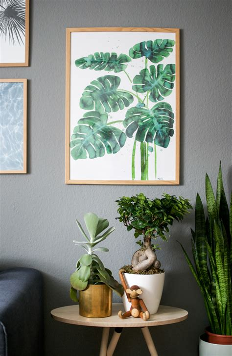 home decor with indoor plants urbanjunglebloggers plants art houseplants art home