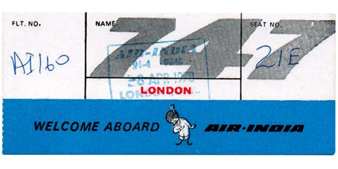 Airline Time Table Collection by Travel Inside The Emperor Fleet Of Boeing 747s