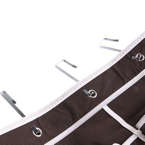 24 pockets hanging door holder 24 pocket shoe space door hanging organizer rack wall
