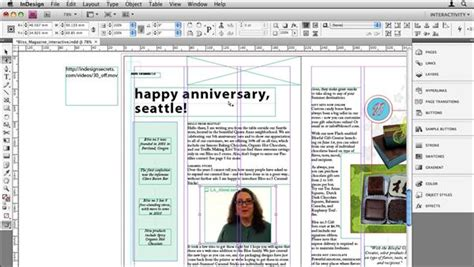 Indesign Cs4 How To Add Swf Files To Pdf Files Interactive Pdf Templates Indesign