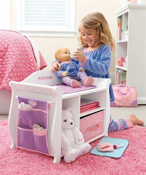 baby alive changing table 174 changing table storage unit for 15 bitty