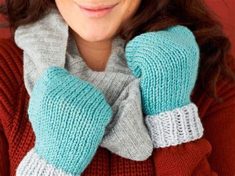 pattern knitting mittens easy mittens knitting pattern final1 mollie makes
