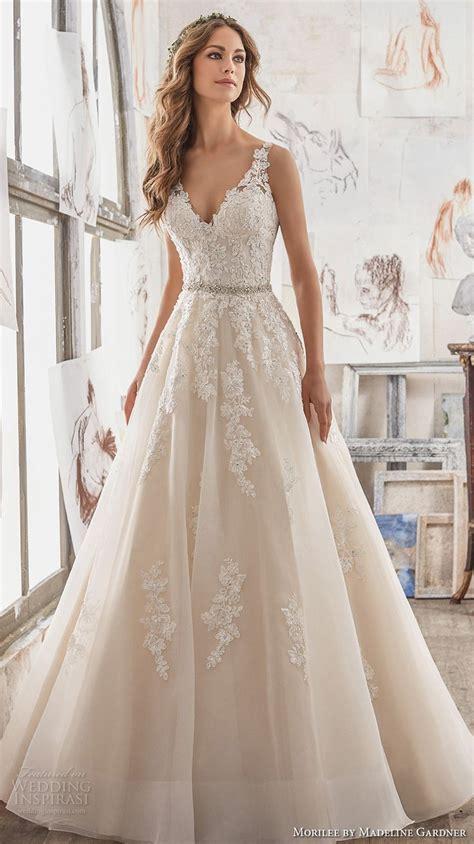 wedding dress with color morilee by madeline gardner 2017 wedding dresses