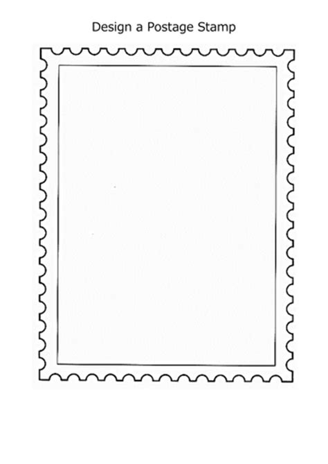 Design A Postage St By Mynameiscait Teaching Resources Tes Postage St Design Template