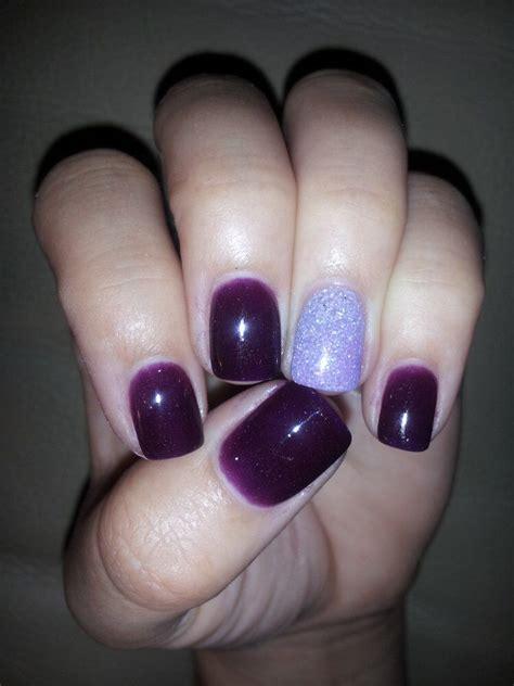 nexgen nail powder colors purple nexgen nails w a sparkle nails nails nails
