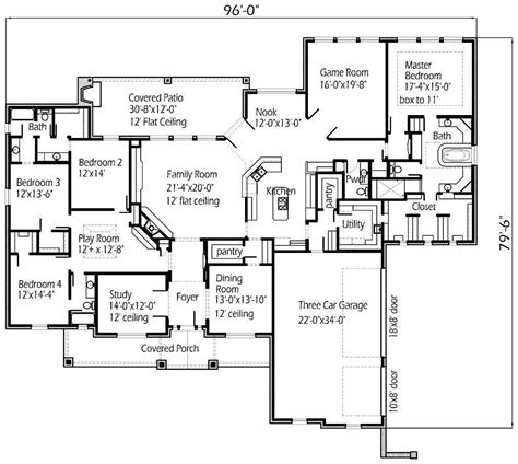 house plans for large family house design ideas