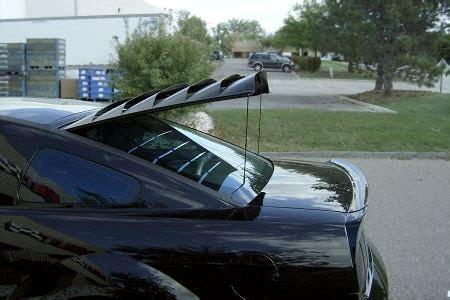 2005 2014 mustang mrt rear window louver