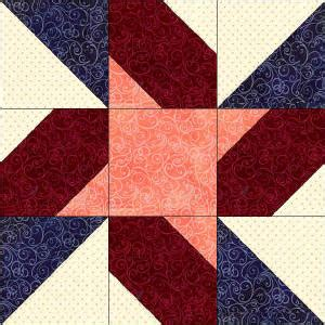 12 In Quilt Blocks by 50 States Indiana Free Quilt Block Pattern