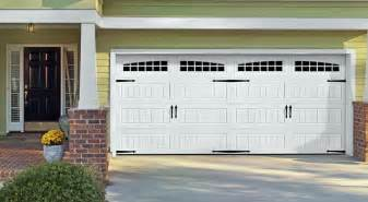 carriage house doors installation in lino lakes white