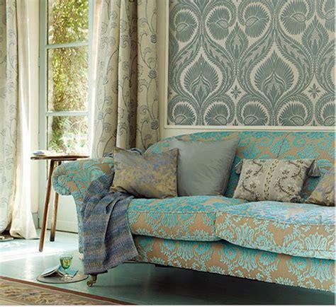 blue living room wallpaper 10 living room ideas on a budget decoholic